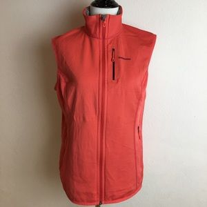 Patagonia Womens Pink Vest Size Large Full Zip